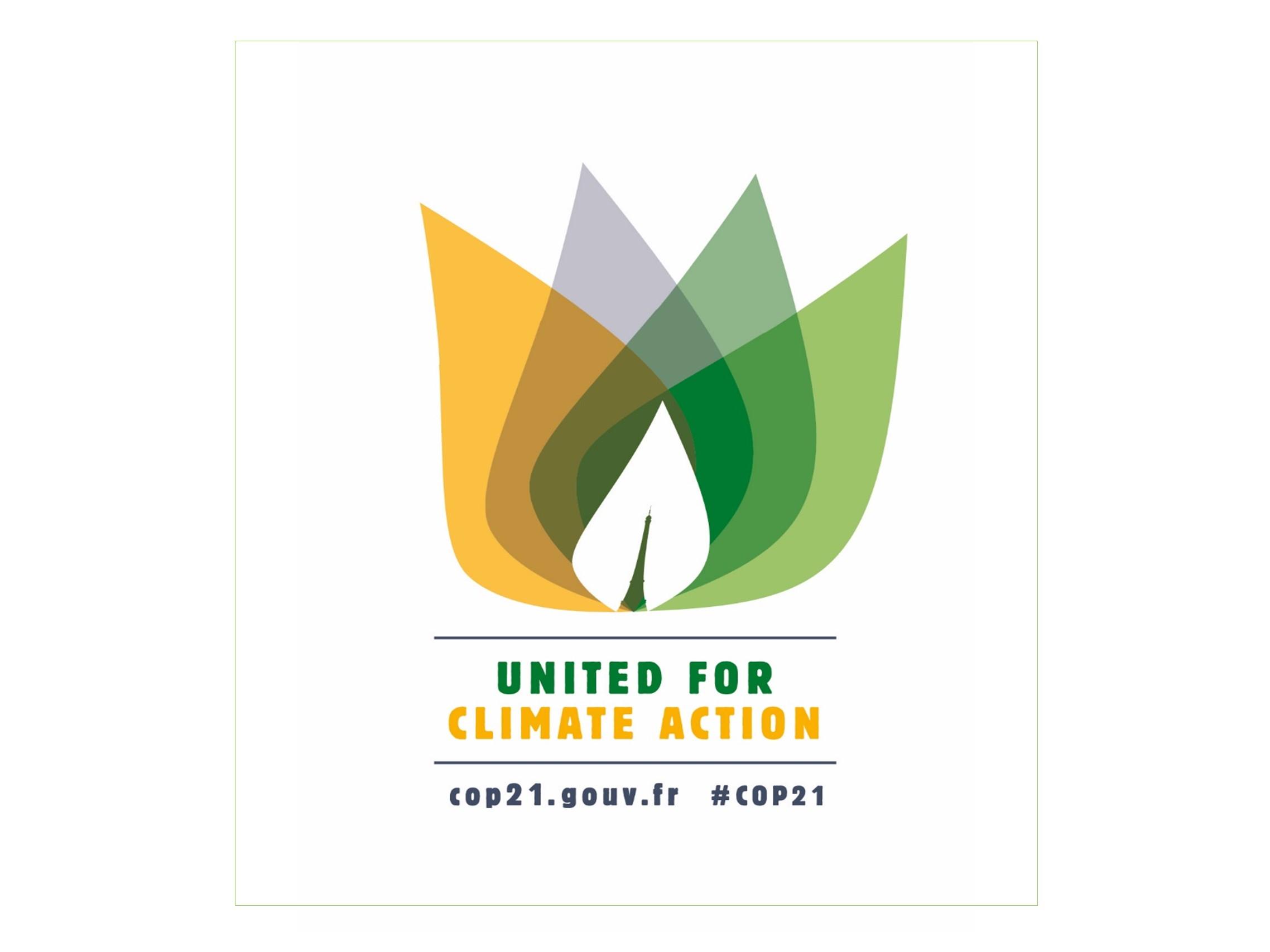 UN COP21 Logo landscape
