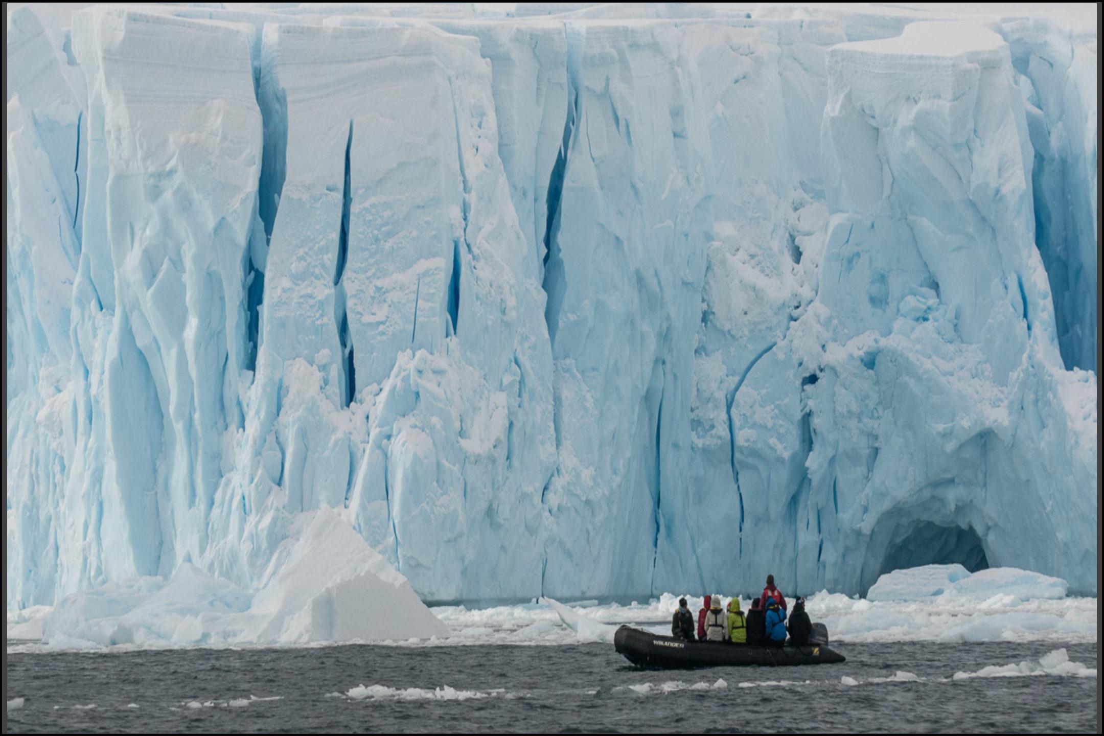 Ice Breakup in Antarctica