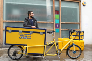 Cargo bike for audio transport london. 8frieght