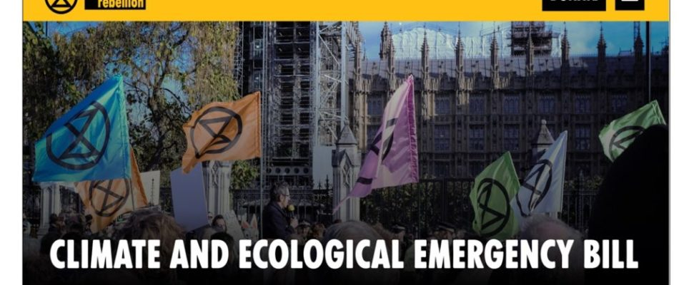 XR Climate and Ecological Emergency Bill 1