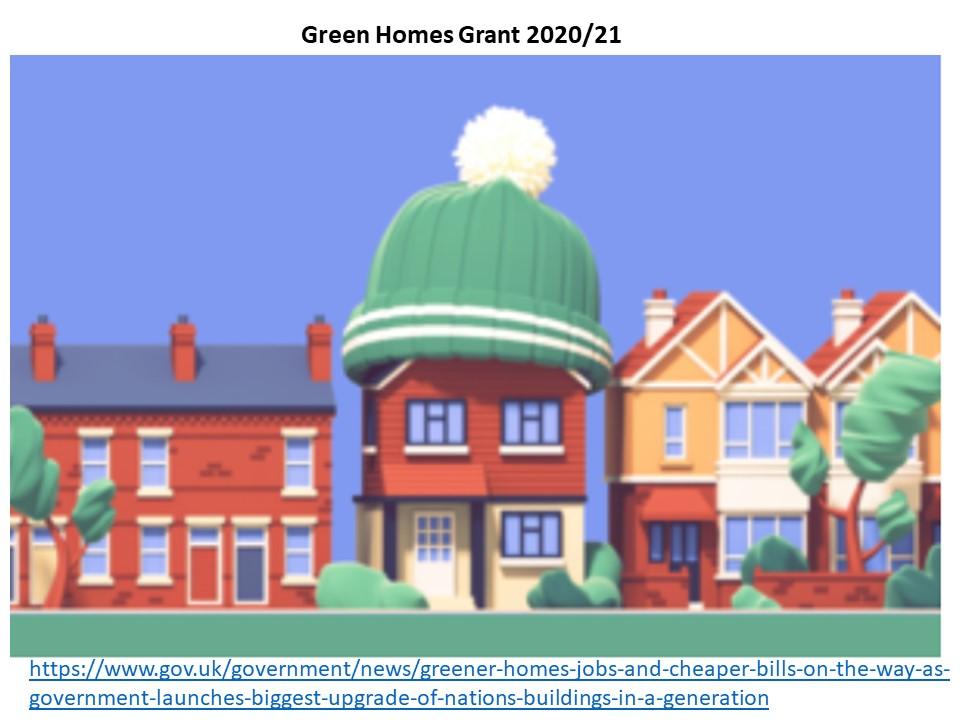 Green Homes Grant press release tea cosy